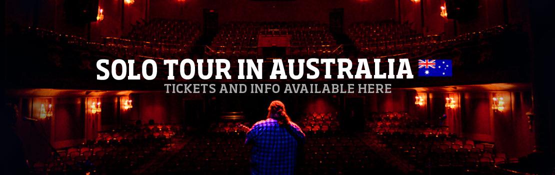Matt Andersen solo tour in Australia!