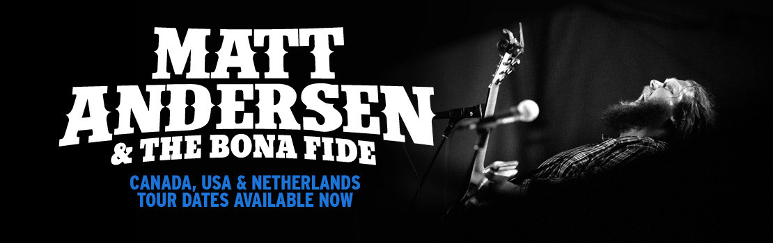 Matt Andersen international tour dates