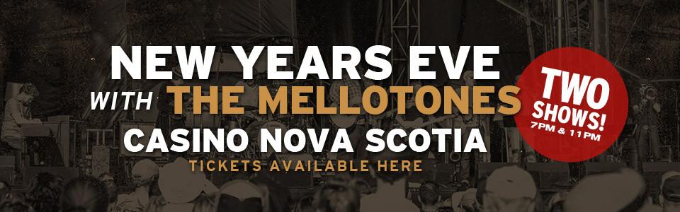 Matt Andersen & The Mellotones New Years Eve in Halifax