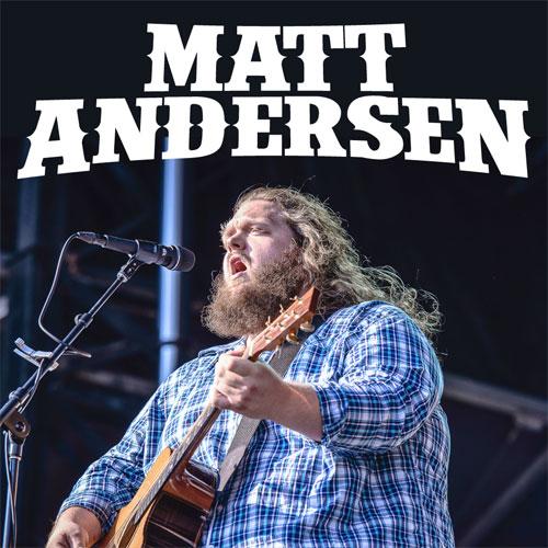 Matt Andersen Tour Dates